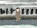 ドリヤス工場のイラスト(C)2020「きまじめ楽隊のぼんやり戦争」フィルムプロジェクト