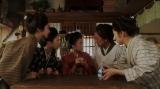 左から、節子(仁村紗和)、富士子(土居志央梨)、竹井千代(杉咲花)、かめ(楠見薫)、玉(古谷ちさ)=連続テレビ小説『おちょやん』第12週・第57回より (C)NHK