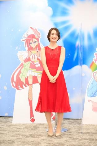 『トロピカル〜ジュ!プリキュア』マスコミ向けオンライン記者会見に登壇した瀬戸麻沙美