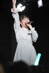 マジカル・パンチラインの山本花奈=「結成5周年記念&新メンバーお披露目イベント〜THe Start〜」