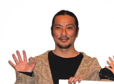 映画『新デコトラのシュウ 鷲』の舞台あいさつに登場した新羅慎二 (C)ORICON NewS inc.