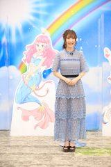 『トロピカル〜ジュ!プリキュア』マスコミ向けオンライン記者会見に参加した日高里菜