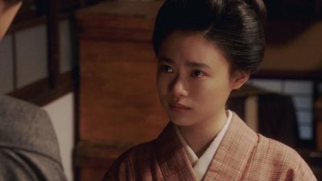 竹井千代(杉咲花)=連続テレビ小説『おちょやん』第12週・第59回より (C)NHK