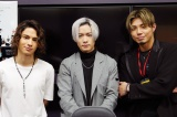 『RAGE PARTY 2021』に参加したチームLDH(左から)海沼流星、川村壱馬、武知海青
