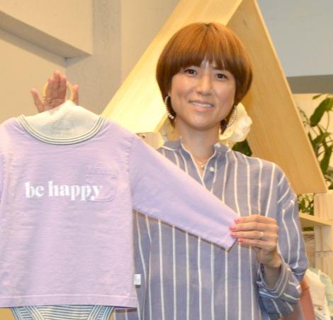 4人目の子育ては「孫をみる感覚」だと語ったhitomi=『LOVE LIFE LOVE BABY』発売記念メディア向け取材会 (C)ORICON NewS inc.