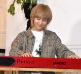 『ちぴ×#部屋活ピアノSupported by CASIO』オープニングイベントに参加したCUBERS・末吉9太郎 (C)ORICON NewS inc.