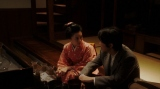 ヨシヲ(倉悠貴)と話しをする千代(杉咲花)=連続テレビ小説『おちょやん』第12週・第60回より (C)NHK