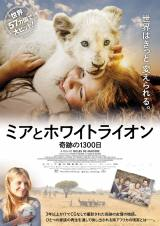 映画『ミアとホワイトライオン 奇跡の1300日』2月26日より全国順次公開(C) 2018 Galatee Films - Outside Films - Film Afrika D - Pandora Film - Studiocanal - M6 Films