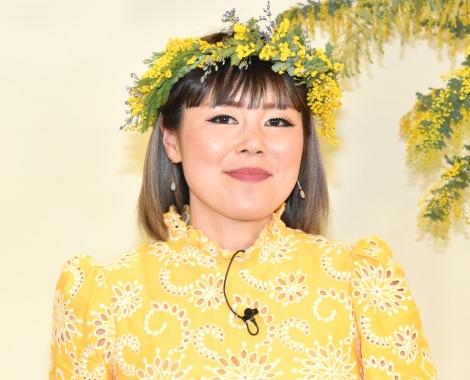 花は生活必需品と語った藤原しおりさん=『MIMOSA FESTA 2021』MUSE CEREMONY スペシャルトークライブ (C)ORICON NewS inc.