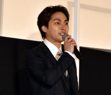 映画『ターコイズの空の下で』の初日舞台あいさつに出席した柳楽優弥 (C)ORICON NewS inc.