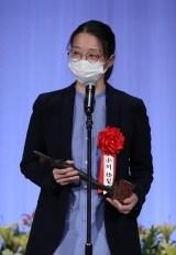 『第28回読売演劇大賞』贈賞式に出席した小川絵梨子氏(C)読売新聞社