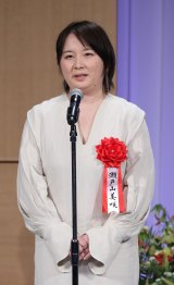 『第28回読売演劇大賞』贈賞式に出席した瀬戸山美咲氏(C)読売新聞社