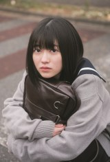 『B.L.T.graduation2021高校卒業』に登場する櫻坂46・幸阪茉里乃(C)東京ニュース通信社