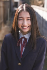 『B.L.T.graduation2021中学卒業』に登場するNMB48・塩月希依音(C)東京ニュース通信社