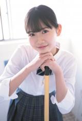 『B.L.T.graduation2021中学卒業』に登場するモーニング娘。 '21・岡村ほまれ(C)東京ニュース通信社