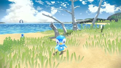 ポケモン新作『Pokemon LEGENDS アルセウス』のゲーム画面