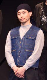 2.5次元ダンスライブ『ALIVESTAGE外伝 ZIX STAGE「Break It!」』ゲネプロ前取材に参加した田中崇士 (C)ORICON NewS inc.
