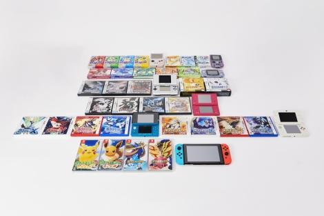 ゲーム『ポケットモンスター』シリーズの全ソフト(c)2021 Pokemon. (c)1995-2021 Nintendo/Creatures Inc./GAME FREAK inc.