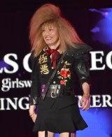 『第32回 マイナビ 東京ガールズコレクション 2021 SPRING/SUMMER』に登場した遠藤憲一 (C)ORICON NewS inc.