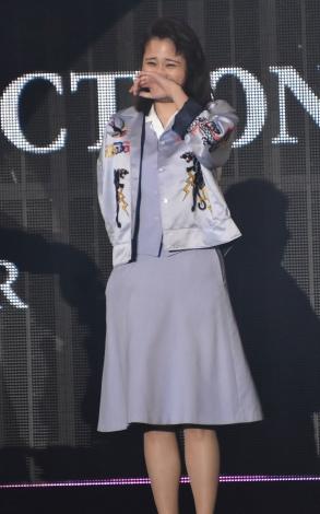 『第32回 マイナビ 東京ガールズコレクション 2021 SPRING/SUMMER』に登場した広瀬アリス (C)ORICON NewS inc.