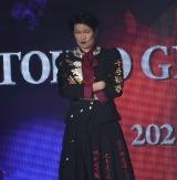 『第32回 マイナビ 東京ガールズコレクション 2021 SPRING/SUMMER』に登場した丸山智己 (C)ORICON NewS inc.