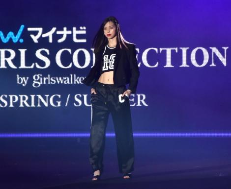 『第32回 マイナビ 東京ガールズコレクション 2021 SPRING/SUMMER』に登場した中条あやみ (C)ORICON NewS inc.
