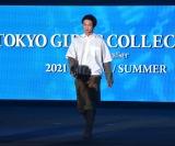 『第32回 マイナビ 東京ガールズコレクション 2021 SPRING/SUMMER』に登場した笠松将 (C)ORICON NewS inc.