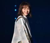 『第32回 マイナビ 東京ガールズコレクション 2021 SPRING/SUMMER』に登場した飯豊まりえ (C)ORICON NewS inc.