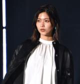 『第32回 マイナビ 東京ガールズコレクション 2021 SPRING/SUMMER』に登場した渡邉理佐 (C)ORICON NewS inc.