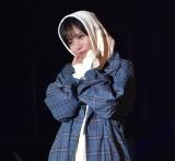 『第32回 マイナビ 東京ガールズコレクション 2021 SPRING/SUMMER』に登場した日向坂46・齊藤京子 (C)ORICON NewS inc.