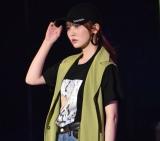 『第32回 マイナビ 東京ガールズコレクション 2021 SPRING/SUMMER』に登場した日向坂46・加藤史帆 (C)ORICON NewS inc.