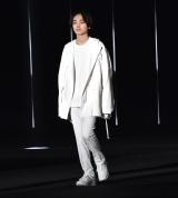 『第32回 マイナビ 東京ガールズコレクション 2021 SPRING/SUMMER』に登場した宮世琉弥 (C)ORICON NewS inc.