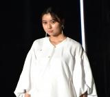 『第32回 マイナビ 東京ガールズコレクション 2021 SPRING/SUMMER』に登場した上白石萌歌(C)ORICON NewS inc.