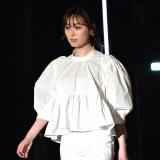 『第32回 マイナビ 東京ガールズコレクション 2021 SPRING/SUMMER』に登場した福原遥 (C)ORICON NewS inc.