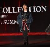 『第32回 マイナビ 東京ガールズコレクション 2021 SPRING/SUMMER』に登場した金村美玖 (C)ORICON NewS inc.