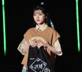 『第32回 マイナビ 東京ガールズコレクション 2021 SPRING/SUMMER』に登場した佐々木美玲 (C)ORICON NewS inc.