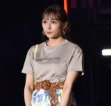 『第32回 マイナビ 東京ガールズコレクション 2021 SPRING/SUMMER』に登場した渡辺梨加 (C)ORICON NewS inc.