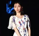『第32回 マイナビ 東京ガールズコレクション 2021 SPRING/SUMMER』に登場した江野沢愛美 (C)ORICON NewS inc.