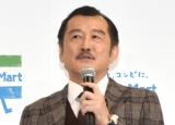 ファミリーマートの創立40周年記念発表会に新アンバサダーとして参加した吉田鋼太郎 (C)ORICON NewS inc.