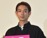 『NO CALL NO LIFE』完成披露上映会の舞台あいさつに参加した駒木根葵汰 (C)ORICON NewS inc.