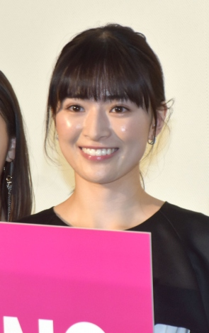 『NO CALL NO LIFE』完成披露上映会の舞台あいさつに参加した優希美青 (C)ORICON NewS inc.