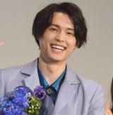 映画『ライアー×ライアー』公開御礼舞台あいさつに登壇した松村北斗 (C)ORICON NewS inc.