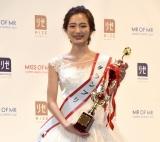 『MISS OF MISS CAMPUS QUEEN CONTEST 2021』グランプリに輝いた東京大学1年の神谷明采さん (C)ORICON NewS inc.