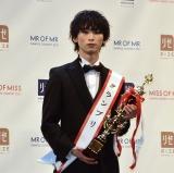 『MR OF MR CAMPUS CONTEST 2021』グランプリに輝いた立教大学4年の鈴木廉さん (C)ORICON NewS inc.