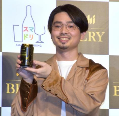 『アサヒ ビアリー』のテレビCM発表会に参加したハマ・オカモト (C)ORICON NewS inc.
