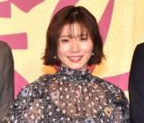 映画『騙し絵の牙』騙し合いバトル開幕式に出席した松岡茉優 (C)ORICON NewS inc.