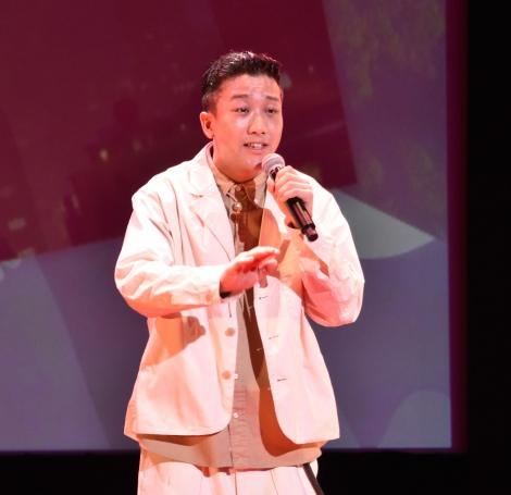 映画『トムとジェリー』プレミアムイベントに出席した瑛人 (C)ORICON NewS inc.