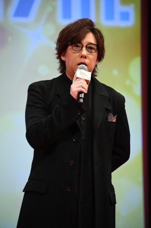 映画『トムとジェリー』プレミアムイベントに出席した日野聡