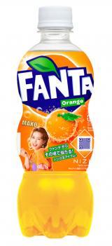 『ファンタ オレンジ』 NiziU限定デザインボトル(MAKO)