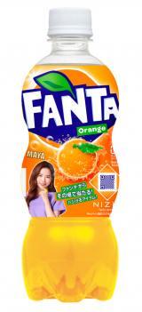 『ファンタ オレンジ』 NiziU限定デザインボトル(MAYA)